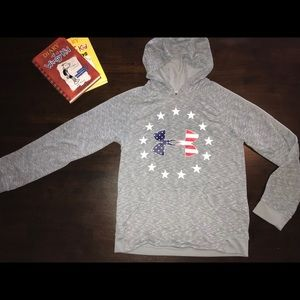Under Armour American Spirit Hoodie - Youth Large